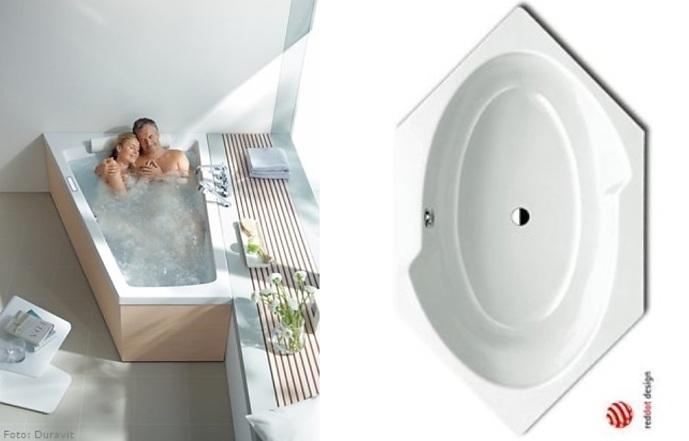 Mini Badewanne fuer kleine Baeder > Wohnen