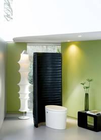 die salonf hige toilette wohnen. Black Bedroom Furniture Sets. Home Design Ideas