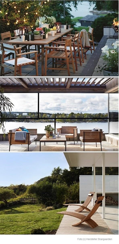 skargaarden skandinavische gartenmoebel wohnen. Black Bedroom Furniture Sets. Home Design Ideas