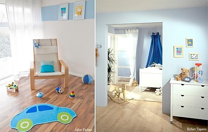 Farbgestaltung im Kinderzimmer > Wohnen