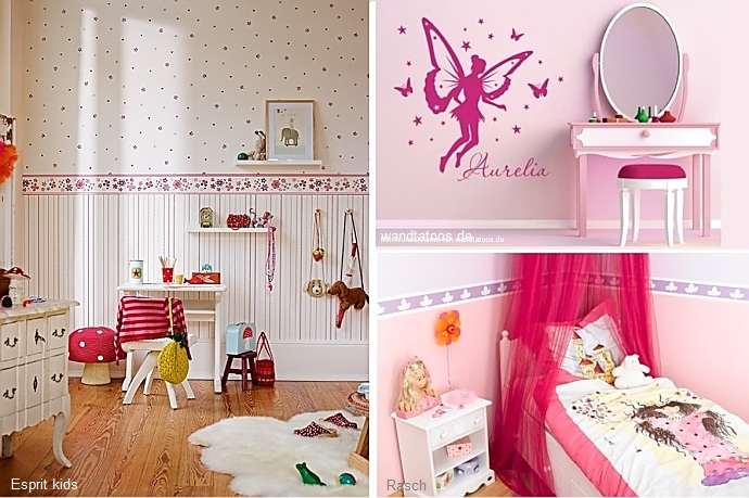 kinderzimmer hubsch mit tapeten gestalten beste. Black Bedroom Furniture Sets. Home Design Ideas
