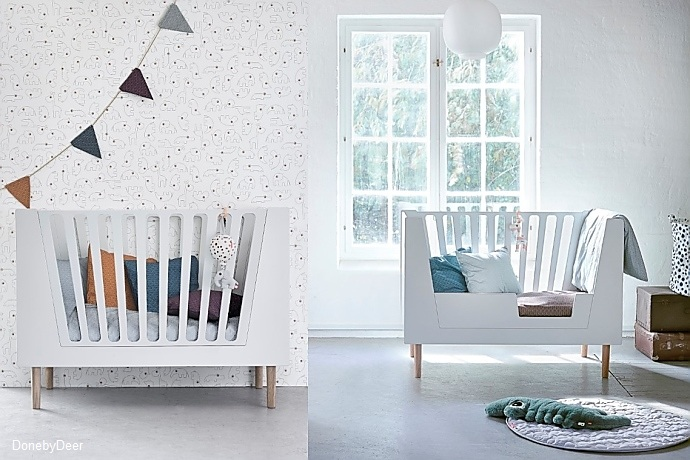 mitwachsende babybetten wohnen. Black Bedroom Furniture Sets. Home Design Ideas