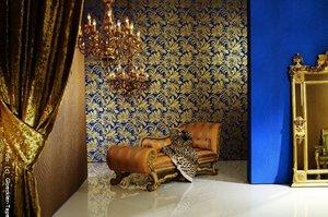 Glamouröse und opulente Tapeten von Glöckler