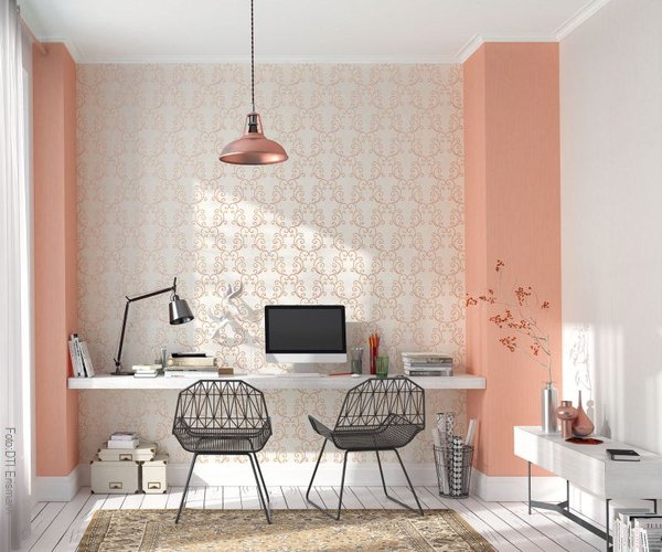 Wohntrends in pastelle gt wohnen for Markise balkon mit apricot tapete