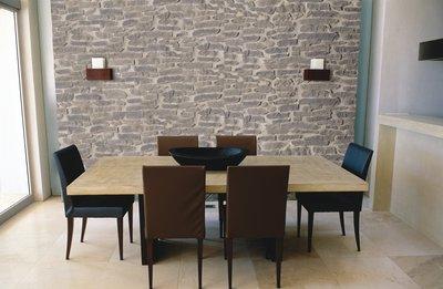 eine naturstein wand ist edel und zeitlos wohnen. Black Bedroom Furniture Sets. Home Design Ideas