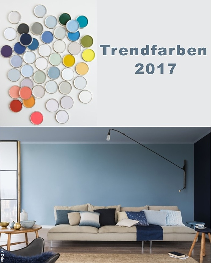 trendfarben 2017 wand und interieur wohnen. Black Bedroom Furniture Sets. Home Design Ideas