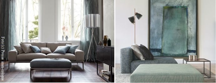wohnen trendfarbe gruen wohnen. Black Bedroom Furniture Sets. Home Design Ideas