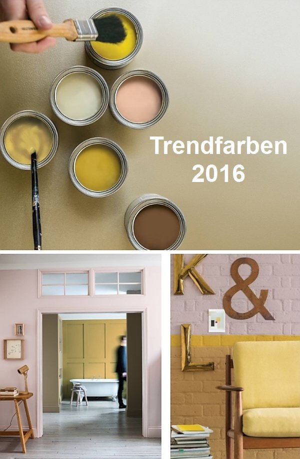 trendfarben 2016 wand und interieur wohnen. Black Bedroom Furniture Sets. Home Design Ideas