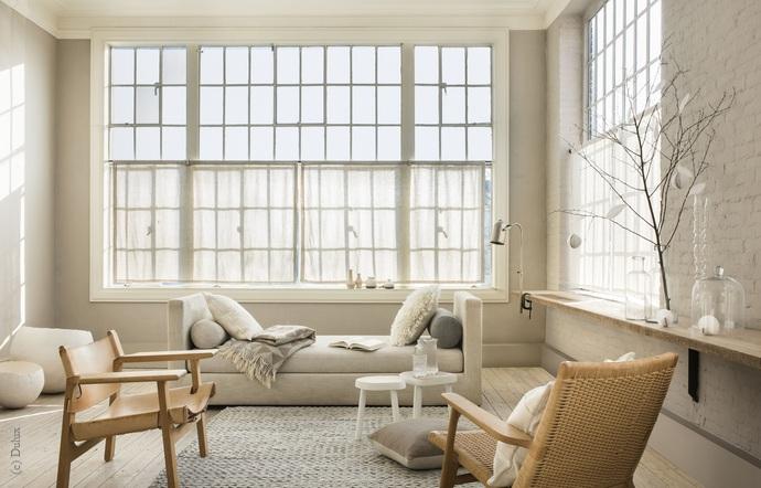 weisse w nde lassen spielraum f r farbige akzente wohnen. Black Bedroom Furniture Sets. Home Design Ideas