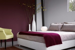 farbe wand. Black Bedroom Furniture Sets. Home Design Ideas