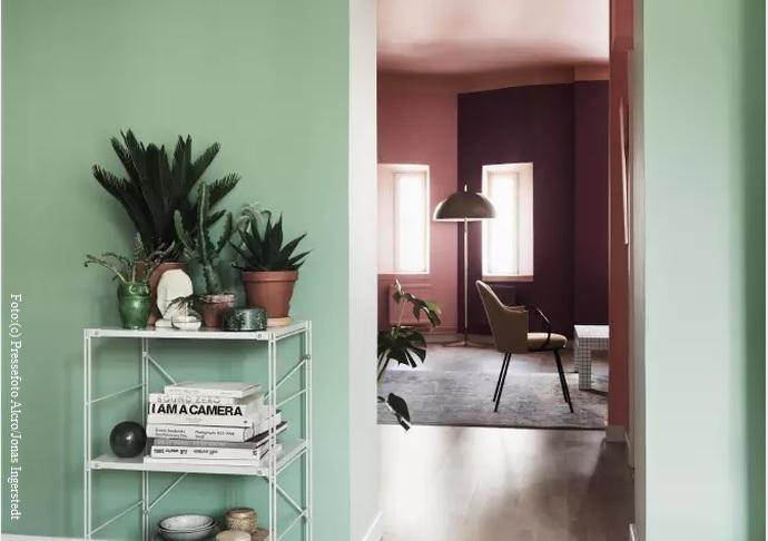 trendfarben 2017 wand interior design und m bel ideen. Black Bedroom Furniture Sets. Home Design Ideas