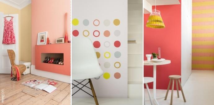 Wandfarben In Gelb Und Orange Wirken Freundlich Und Belebend Wohnen
