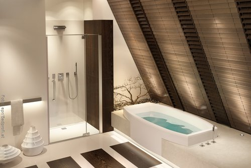 Badezimmer » Badezimmer Ideen Schräge - Tausende Fotosammlung Von ... Kleines Badezimmer Mit Schrge