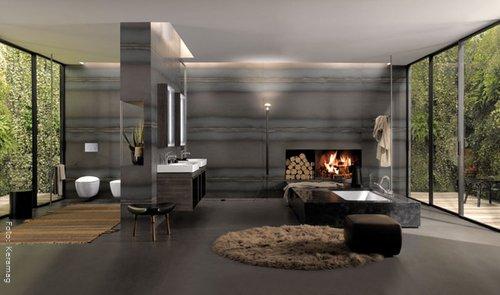 luxusbadezimmer wohnen