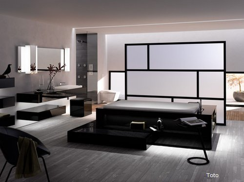 luxusbadezimmer wohnen. Black Bedroom Furniture Sets. Home Design Ideas