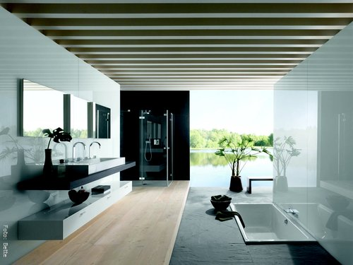 luxusbadezimmer wohnen. Black Bedroom Furniture Sets. Home Design Ideas