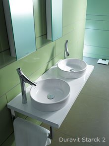 fotogalerie waschbecken und waschtische wohnen. Black Bedroom Furniture Sets. Home Design Ideas