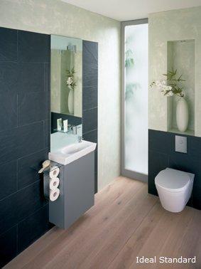 gaeste wc ideen f r wenig platz wohnen. Black Bedroom Furniture Sets. Home Design Ideas