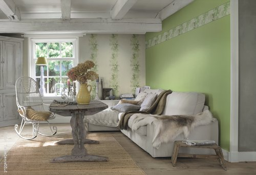 Beautiful Wohnzimmer Farben Landhausstil Contemporary - House ...
