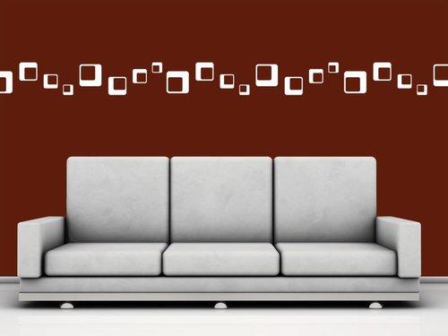 Wandsticker kleiner aufwand grosse wirkung wohnen - Wandgestaltung buro ...
