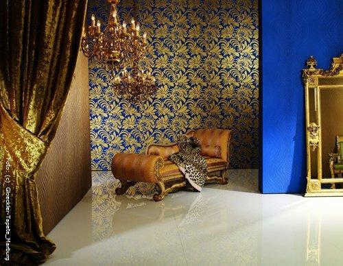 tapeten voller glamour und eleganz wohnen. Black Bedroom Furniture Sets. Home Design Ideas