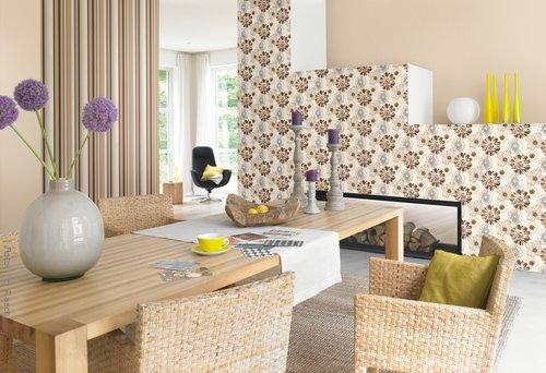 Romantische Tapeten Bord?ren : Romantische Tapeten in zarten Farben und lieblichen Designs