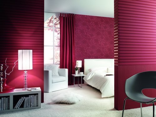 raumgestaltung in rot wohnen. Black Bedroom Furniture Sets. Home Design Ideas