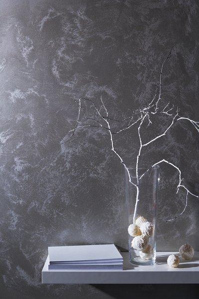 metalleffekte machen aus jeder wand schillernde highlights anmutiges. Black Bedroom Furniture Sets. Home Design Ideas