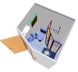 quickbad minib der zum nachtr glichen einbau wohnen. Black Bedroom Furniture Sets. Home Design Ideas